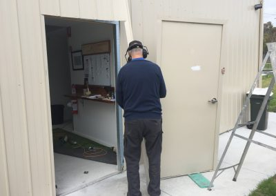 Making Front Door open outwards-Mar 18
